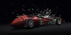 The Ecstasy of Exploding Expensive Racecars | The Creators Project