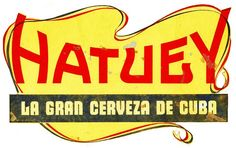 1930s Cuba Bacardi Cerveza Hatuey Beer Advertising Sign