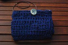 Bolso de trapillo azul marino