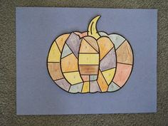 FREE patchwork pumpkin subtraction game. Also makes a great seasonal display or math center game when completed!