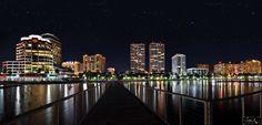 Downtown-west-palm-beach-by-night-justin-kelefas