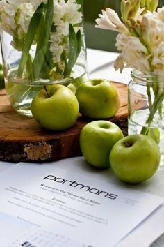 Simply Georgeous Occasions Pear, Apple, Fruit, Food, Inspiration, Apple Fruit, Biblical Inspiration, Essen, Meals