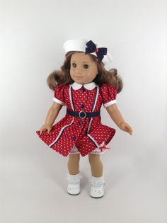 America Girl 18-inch Doll Clothes Vintage by HFDollBoutique