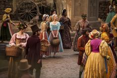The beautiful sets and costumes of Cinderella