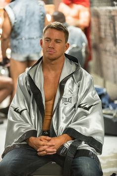Channing Tatum is sexy and he knows it.