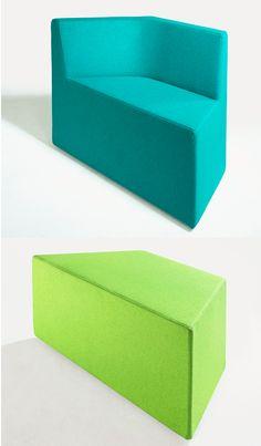 silla asientos modulares