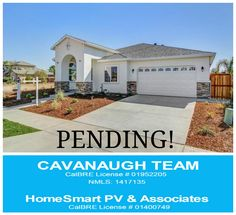 This Custom Home is now Pending. If you would like to see a SOLD sign in front of your yard. Call 209 581 6325 or visit my website