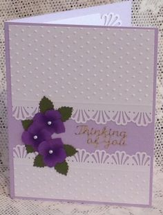 Quick Thinking of You card by cards4joy - Cards and Paper Crafts at Splitcoaststampers