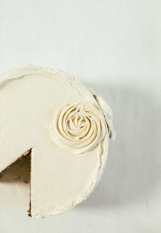 honey cake with caramel buttercream