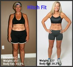 Elizabeth lost 30 pounds and 13% body fat in 12 weeks, love this story