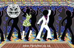 70s Party Decoration Ideas | ... Party Supplies, Ideas, Accessories, Decorations, Games - PartyNet