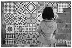Mix up Cement tiles
