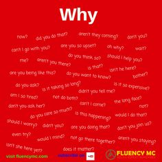 Phrases / Questions - Why ...? Make your own sentence! Practice!