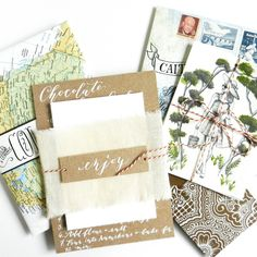 These four fresh snail mail ideas will inspire you to send someone a creative, unique note or letter. Your oh-so-cool DIY stationery will awe and impress!