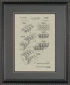 Gift Idea: LEGOS Patent Artwork