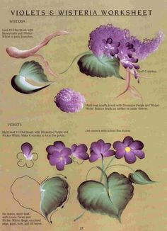 One Stroke Flowers and Vines - Oksana Volkova - Picasa Web Albums