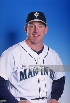 Rick Wilkins #2 of the Seattle Mariners poses for a portrait during Spring Training at the Peoria Sports Complex in Peoria, Arizona. Mandatory Credit: Otto Greule Jr. /Allsport