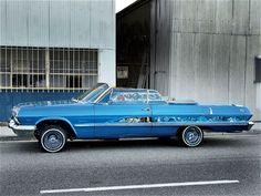 Lowrider Cars 1963 Chevrolet Impala Ss
