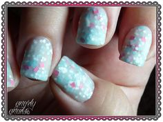 Whimsical Nail Polish by Pam - Sweet Baby James.  http://gnarlygnails.blogspot.com/