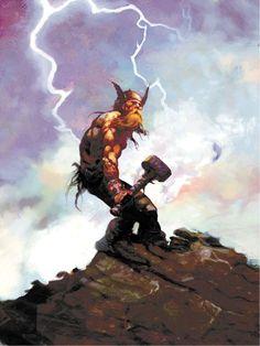 Arthur Suydam: The Art Of The Barbarian. http://www.amazon.com/Arthur-Suydam-The-Barbarian-Chapter/dp/1582405573