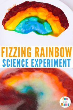 Rainbow Colors Science Experiment For Kids - Fun with Mama Rainbow Fish Activities, Rainbow Learning, Science Activities For Toddlers, Science Experiments Kids, Science For Kids, Preschool Activities, Science Fun, Science Videos, Rainbow Crafts