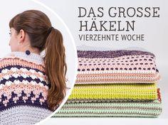Do It Yourself: Decke Nagato häkeln – Das große Häkeln Woche 14. DIY-Anleitung via DaWanda.com