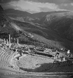 Joan Leigh Fermor -Delphi,Greece Delphi Greece, Greece History, Alberto Giacometti, Photography Articles, Artist Names, France Travel, Athens, Paris Skyline, City Photo