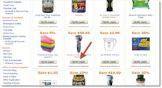 How to find and clip Amazon instant coupons via @CNET