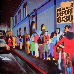 Weather Report Badia / Boogie Woogie Waltz Medley in Greatest Album Covers, Classic Album Covers, Lps, Lp Vinyl, Vinyl Records, Jaco Pastorius, The Family Stone, Jazz Art, Audio