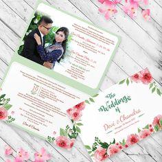 Green Wedding Invitation  #invitationdesign #invitation #weddinginvitation #schellialion #wedding #weddingcard #watercolorinvitation