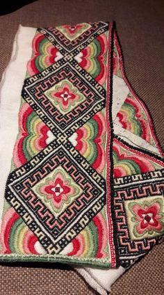 Aprons, Bohemian Rug, Needlework, Embroidery, Rugs, Vintage, Decor, Straight Stitch, Hemline