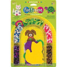 Perler Fun Fusion Fuse Bead Activity Kit, Pet Fancy