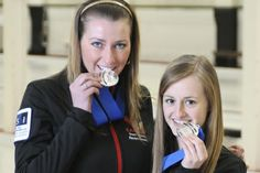 Carleton graduate Emma Miskew is part of the team, along with Rachel Homan, Alison Kreviazuk and Lisa Weagle that won the Canadian women's curling Curling Canada, Sunday Night, Scottie, Kingston, Athletics, Third, Curls, Lisa, Students