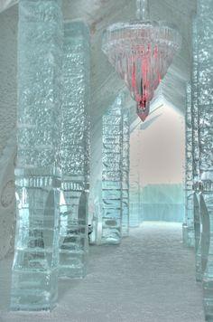 Ice Hotel, Jukkasjarvi, Sweden....