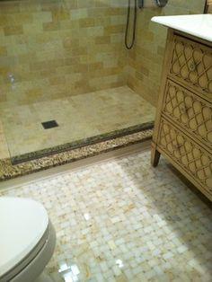 Showers modern bathroom tile - floor tile