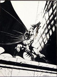 The Batman by Bernie Wrightson