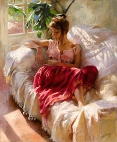 He loves to do female pastel paintings that portrays emotions in a unique manner. Description from fineartblogger.com. I searched for this on bing.com/images