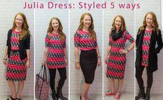 Different ways to wear Julia. #lovelularoe  https://m.facebook.com/groups/LLRExclusivelyYours