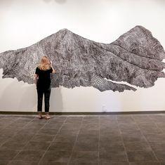 Giant Mountains Mural Drawings – Fubiz Media