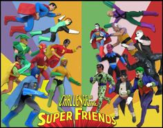 DC Retro, Mego, and custom Megos bring one of my favorite cartoons of all time to life!
