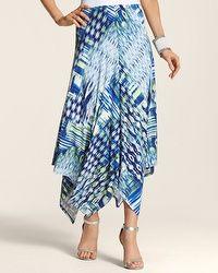 Ikat Print Hailey Hanky Skirt