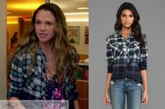 Younger: Season 1 Episode 1 Liza's Plaid Shirt