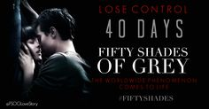 40 DAYS UNTIL #FIFTYSHADES MOVIE...!!!  THE WAIT IS ALMOST OVER...!! THIS IS SO EXCITING
