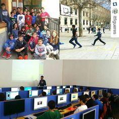 #Repost @itfigueres with @repostapp  Foto del primer dia del #campustecnològic de #setmanasanta2016 de #itfigueres a la #sallefigueres! #programacio #robotica #legoev3 #fll #arduino #appinventor #meccano #app #coronasdk #lua #lleure #tecnologia #figueres #educacio #visitfigueres #informatica by fedeluque