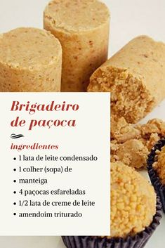 Portuguese Recipes, Candy Store, Food Hacks, Sweet Recipes, Love Food, Food And Drink, Snacks, Cooking, Delicious Recipes