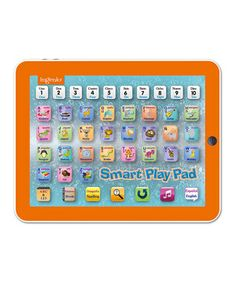 Designed to enhance little learners' letter and number recognition, this electronic game pad features four modes of play and over 30 touch sensor keys with bilingual functions. It's the perfect activity for entertaining at-home education.