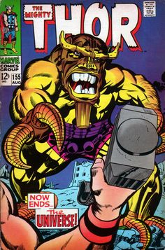The Mighty Thor 155 - Stan Lee and Jack Kirby