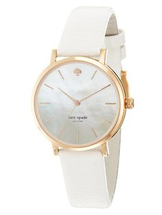 white New York Watch for Women