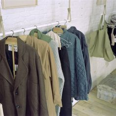 Greens and browns | Jackets and coats | do design - garment hanger