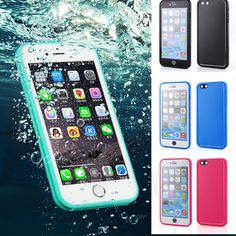 Find More Phone Bags & Cases Information about Ultra Thin Swim Diving Waterproof Case For coque iPhone 6 6s 7 Plus 5 5SE iPhone6 Case Silicone Front Back TPU Cover Accessories,High Quality waterproof dry case,China waterproof led light 12v Suppliers, Cheap waterproof pendrive from Case4u  on Aliexpress.com